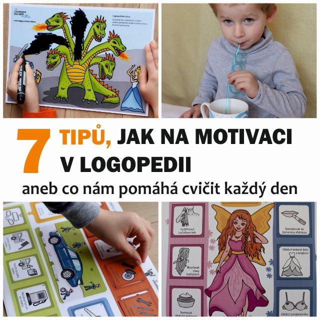 7 tipů jak na motivaci v logopedii